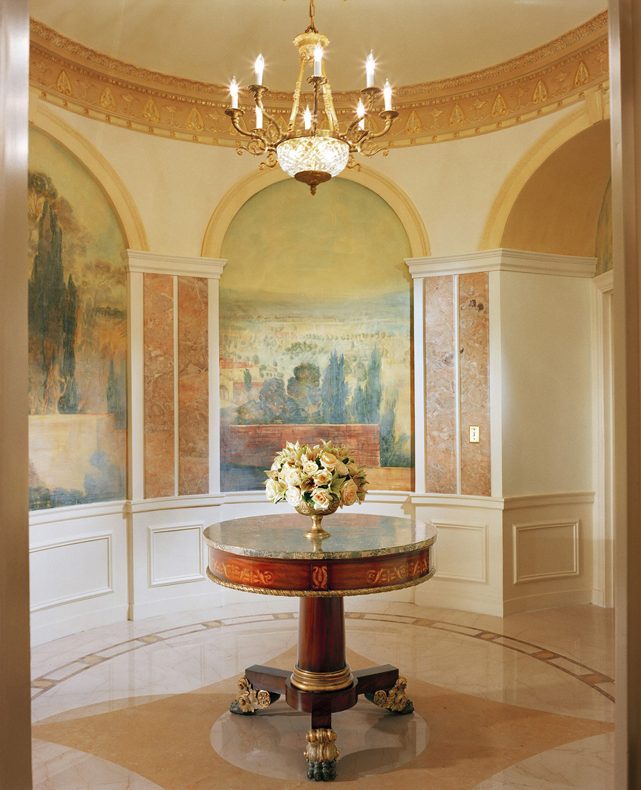 New York Penthouse, Interior Design by Kenneth E. Hurd & Associates