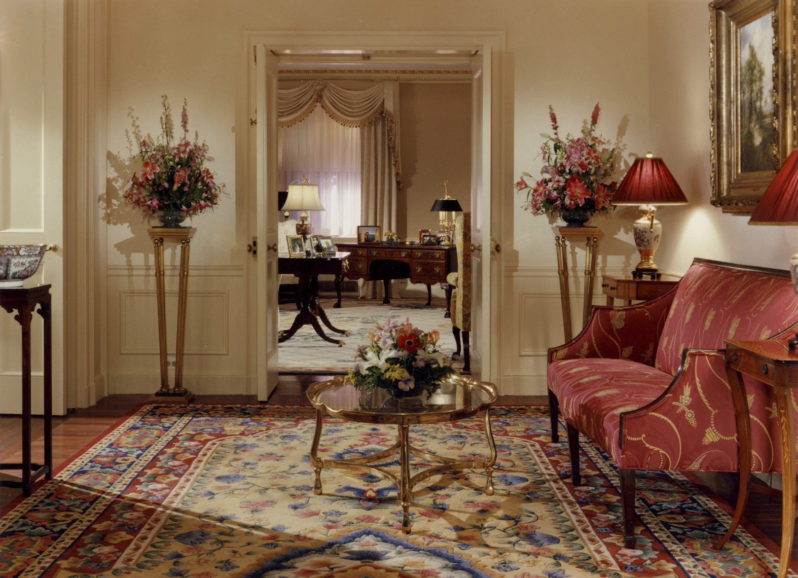 Waldorf Towers Presidential Suite, Interior Design by Kenneth E. Hurd & Associates